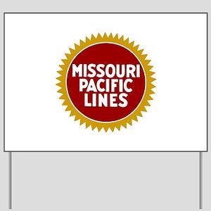 Missouri Pacific Railroad Yard Sign