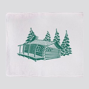 CABIN Throw Blanket