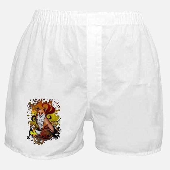 Cute Red fox Boxer Shorts