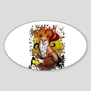 Outdoor Fox Sticker