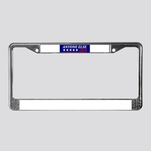 Anyone Else License Plate Frame