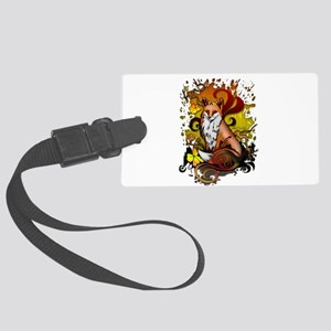 Outdoor Fox Large Luggage Tag
