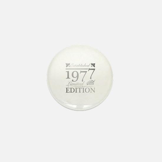 Funny 1977 Mini Button