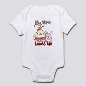 My Nana Loves Me Bunny Infant Bodysuit