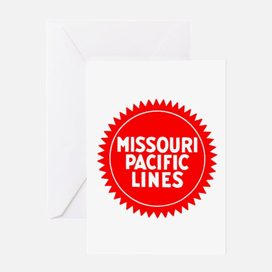 The Mop Railroad Greeting Cards