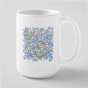 Pastel Leaves (ff) Mugs