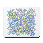 Pastel Leaves (ff) Mousepad