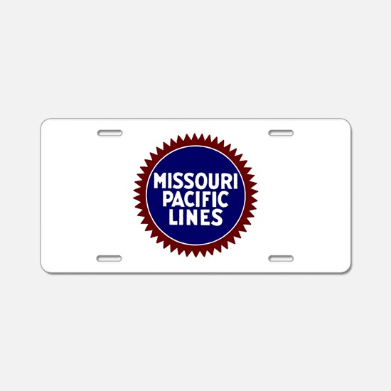 MoP Railway Aluminum License Plate