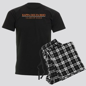 Kappa Delta Rho Class of XXXX Men's Dark Pajamas