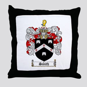 Smith Coat of Arms Throw Pillow