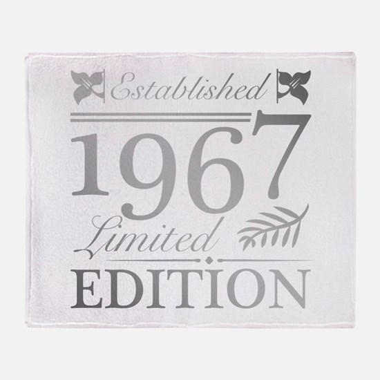 1967 Limited Edition Throw Blanket
