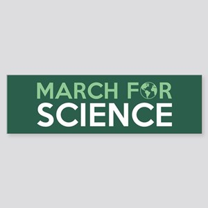 March For Science Bumper Sticker