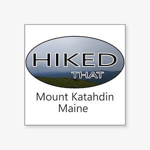 Hiking Mount Katahdin Sticker