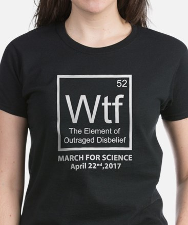 Wtf Outraged Disbelief Women's Dark T-Shirt