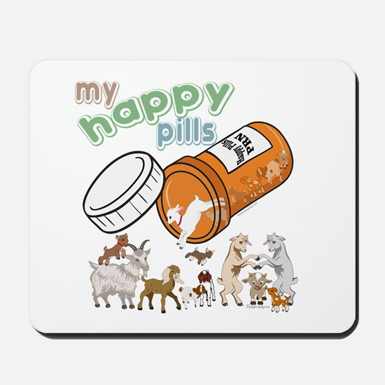 Goats | My Happy Pills GetYerGoat Origin Mousepad