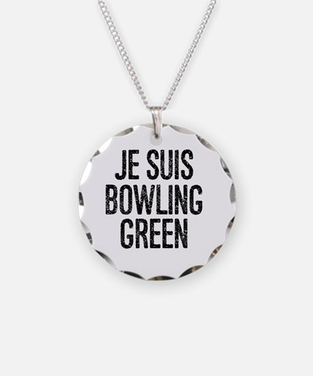 Cute Bowling green Necklace