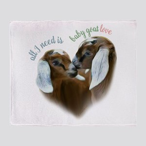 Baby Goat Love - GetYerGoat Exclusive Original Thr