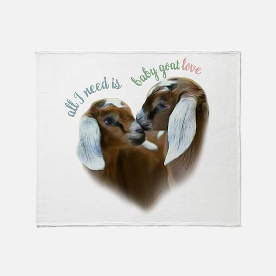 Baby Goat Love - GetYerGoat Exclusive Original Thr
