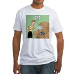 Cat Tricks Fitted T-Shirt