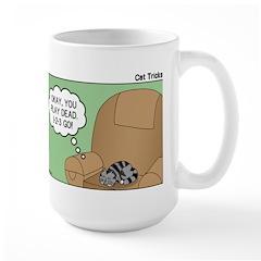 Cat Tricks Large Mug