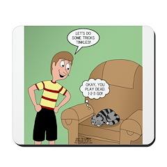 Cat Tricks Mousepad
