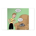 Cat Tricks Postcards (Package of 8)
