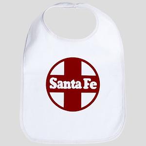 Santa Fe Railroad Red Baby Bib