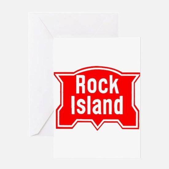 Rock Isle Railroad Greeting Cards