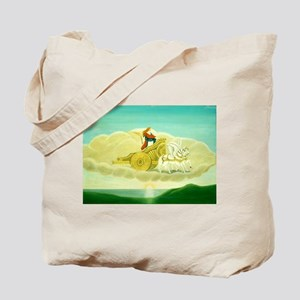 Aurora in a Cloud Tote Bag