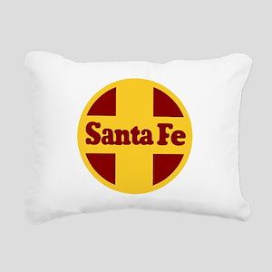 Santa Fe Railway Rectangular Canvas Pillow