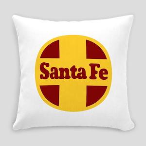 Santa Fe Railway Everyday Pillow