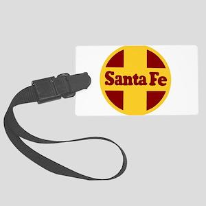 Santa Fe Railway Large Luggage Tag