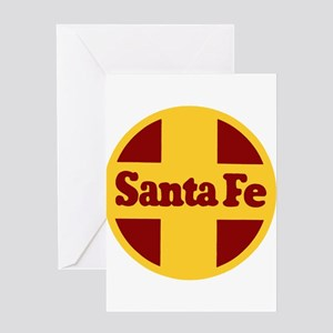 Santa Fe Railway Greeting Cards