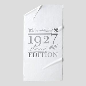 1927 Limited Edition Beach Towel