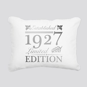 1927 Limited Edition Rectangular Canvas Pillow