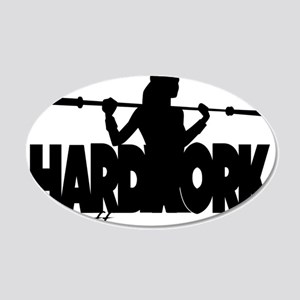 HARDWORK Pays off Wall Decal