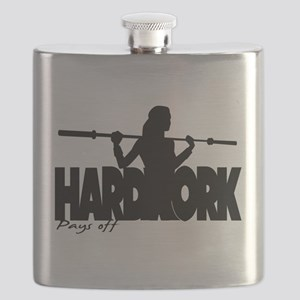 HARDWORK Pays off Flask