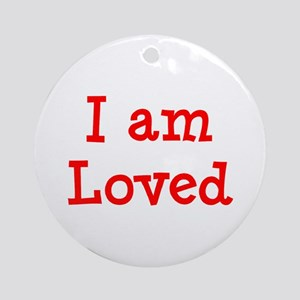 loved Ornament (Round)