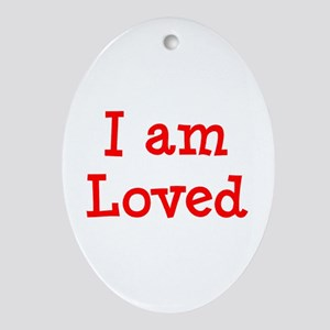 loved Ornament (Oval)
