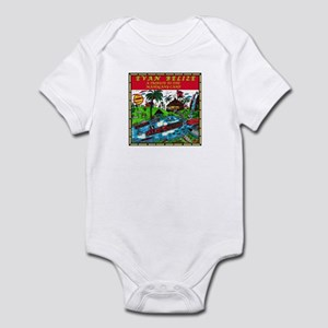 Belizean Baby Historical Body Suit