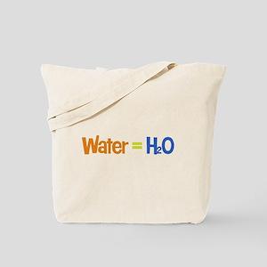 Water = H2O Tote Bag