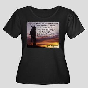 cree Plus Size T-Shirt