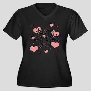 Valentine's Day Plus Size T-Shirt
