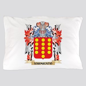 Sarmiento Coat of Arms - Family Crest Pillow Case