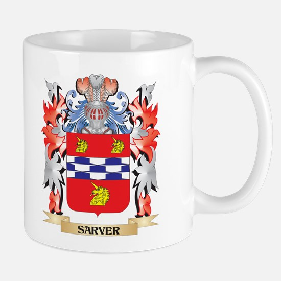 Sarver Coat of Arms - Family Crest Mugs