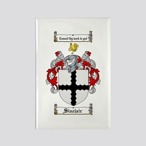 Sinclair Coat of Arms Rectangle Magnet (10 pack)