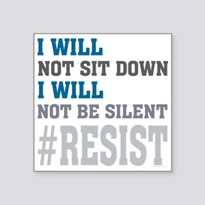 I WILL NOT BE SILENT Sticker