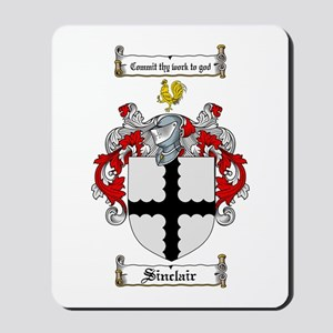Sinclair Coat of Arms Mousepad