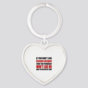 If You Do Not Like Costume designer Heart Keychain