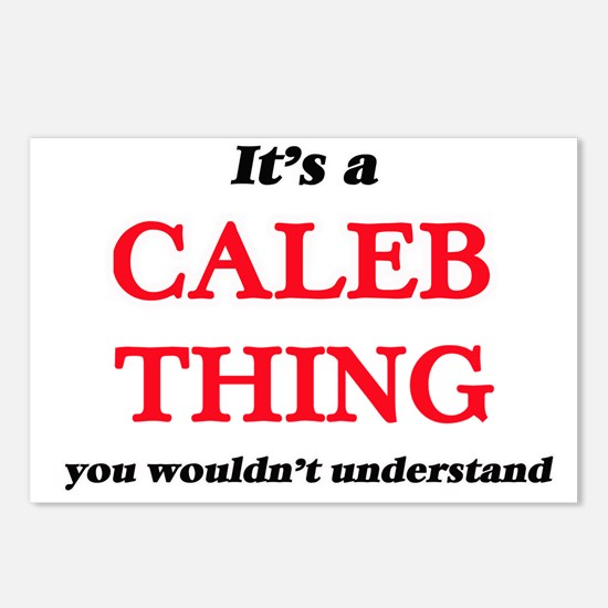 It's a Caleb thing, y Postcards (Package of 8)